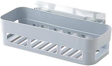 Parshall Badkamer Douche Hoek Plank Geen Boren Rustproof Space Aluminium Douche Caddy Opslag voor Badkamer Keuken, Grijs