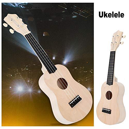 Fai da te Ukulele, Crea il Tuo 21 '' Hawaii Ukulele Kit fai da te Giocattoli montaggio Set per Bambini e Adulti