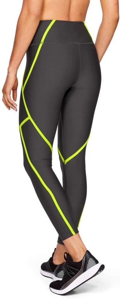 Under armour ua ladies edgelit leggings tech block t shirt set suit XS S M L new