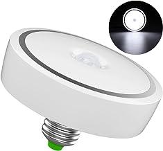 LEDMOMO 12W B22 Motion Sensor Light Bulb, LED Smart Bulb Human Body Induction Lamp Auto On/Off, for Closet, Stairs, Deck, ...