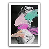 N / A Abstract Posters and Prints Mural Canvas Painting Mural Living Room Home Decoration Frameless 40x50cm