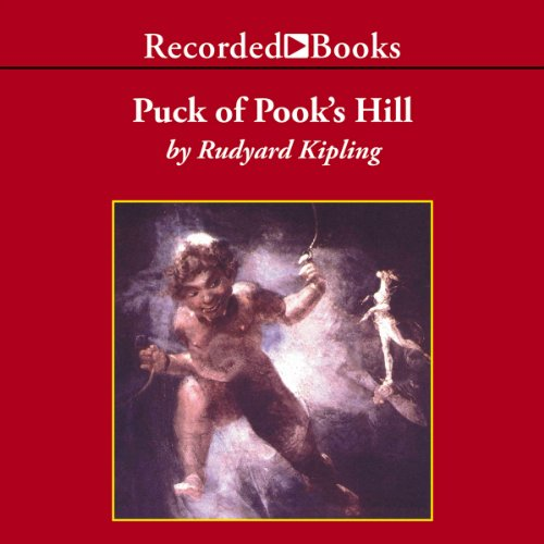 Puck of Pook's Hill audiobook cover art