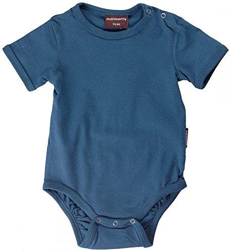 Maxomorra - Body - para bebé niño azul 50/56 cm