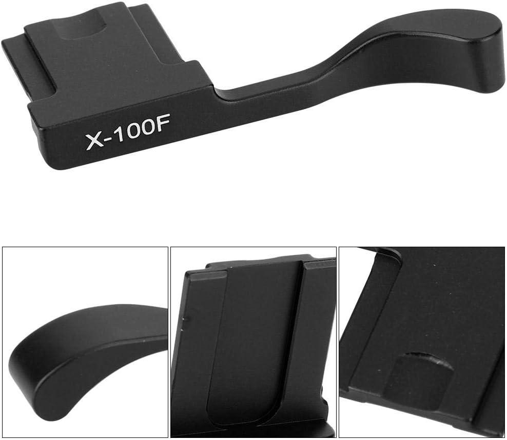 Schwarz Pomya Daumen hoch Griff Aluminiumlegierung Blitzschuh Daumen hoch Handgriff f/ür Fuji X-100F X100T X-A5 spiegellose Kamera