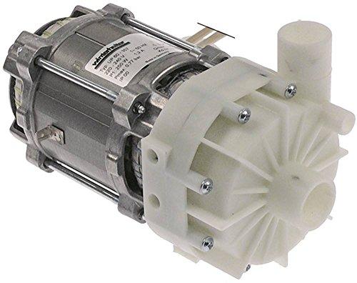 HANNING UP60-357 Pumpe für Spülmaschine Winterhalter GS502, GS515, GS501, GS14, GS15, GS15E für Nachspülung 250W 220/240V 50Hz 5µF