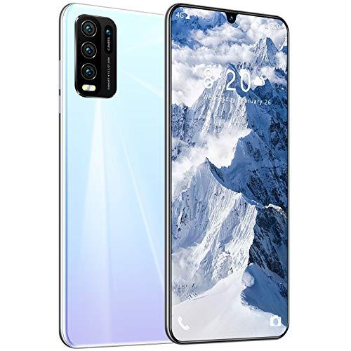 CYJ 4G Smartphone 6.7 Zoll Wassertropfensieb Bildschirm Handy Mit 8GB RAM+128GB ROM, 5600mAh Großer Akku, 48 MP Kamera, NFC, Fingerabdrucksensor
