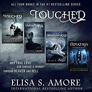 Touched: The Complete Series                   By:                                                                                                                                 Elisa S. Amore                               Narrated by:                                                                                                                                 Mark Deakins,                                                                                        Emma Galvin,                                                                                        Caitlin Kelly,                   and others                 Length: 67 hrs and 1 min     89 ratings     Overall 4.2