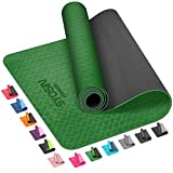 SYOSIN Yoga Mat, 6mm TPE Non-Slip Yoga Mat for Workout Eco Friendly Exercise