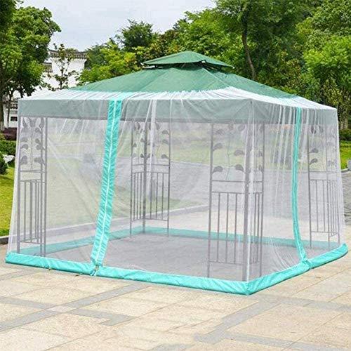 Paraguas Patio al Aire Libre Paraguas Pantalla Bug w/Cremallera de la Puerta, poliéster Red, jardín al Aire Libre Pabellón y Carpa, Puerta Doble ZDWN