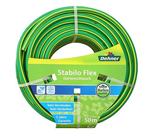 Dehner Stabilo Flex Gartenschlauch, 50 m, 1/2 Zoll