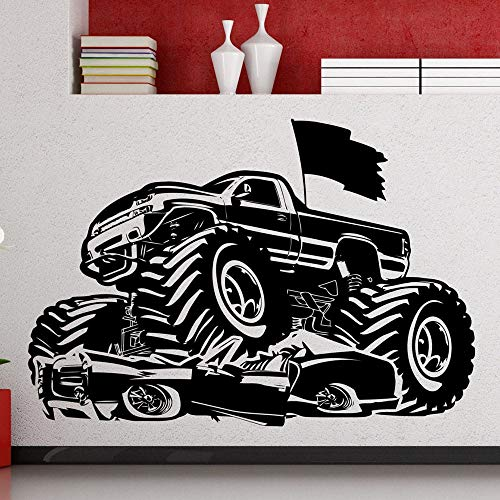 Tianpengyuanshuai LKW Wandtattoo Fahrzeug Auto Vinyl Aufkleber Cool Style Flagge Art-45X64cm