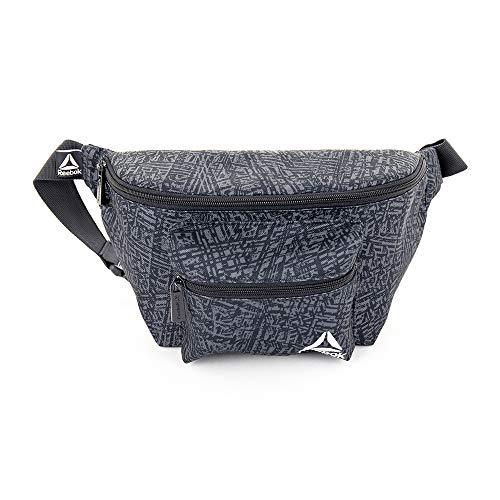 Reebok Dash Fanny Pack Running Belt Water Resistant Waist Bag for Men and Women