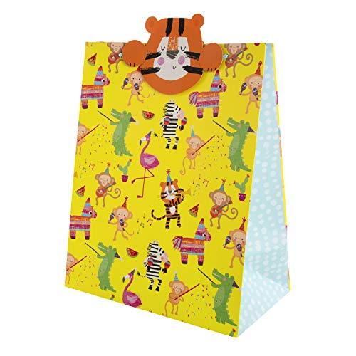 Hallmark Multi-Occasion Gift Bag for Kids and Party Animals with Keepsake...