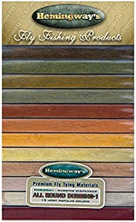 12/Sauterelle mouches de p/êche marron//jaune Tailles au choix Banded vert//jaune