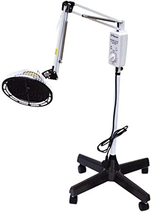 Lampe chauffante TDP Far Infrared Mineral Therapie Acupuncture Licht T/ête Amovible 300/W