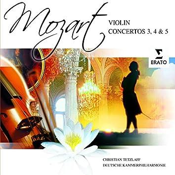 Mozart: Violin Concertos 3, 4 & 5