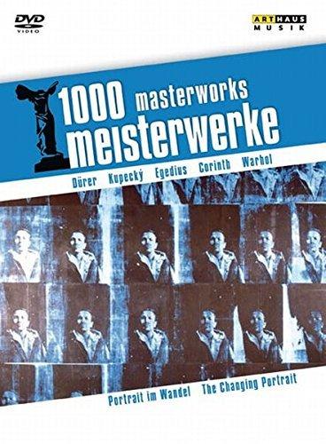 1000 Meisterwerke: Portrait im Wandel, 1 DVD
