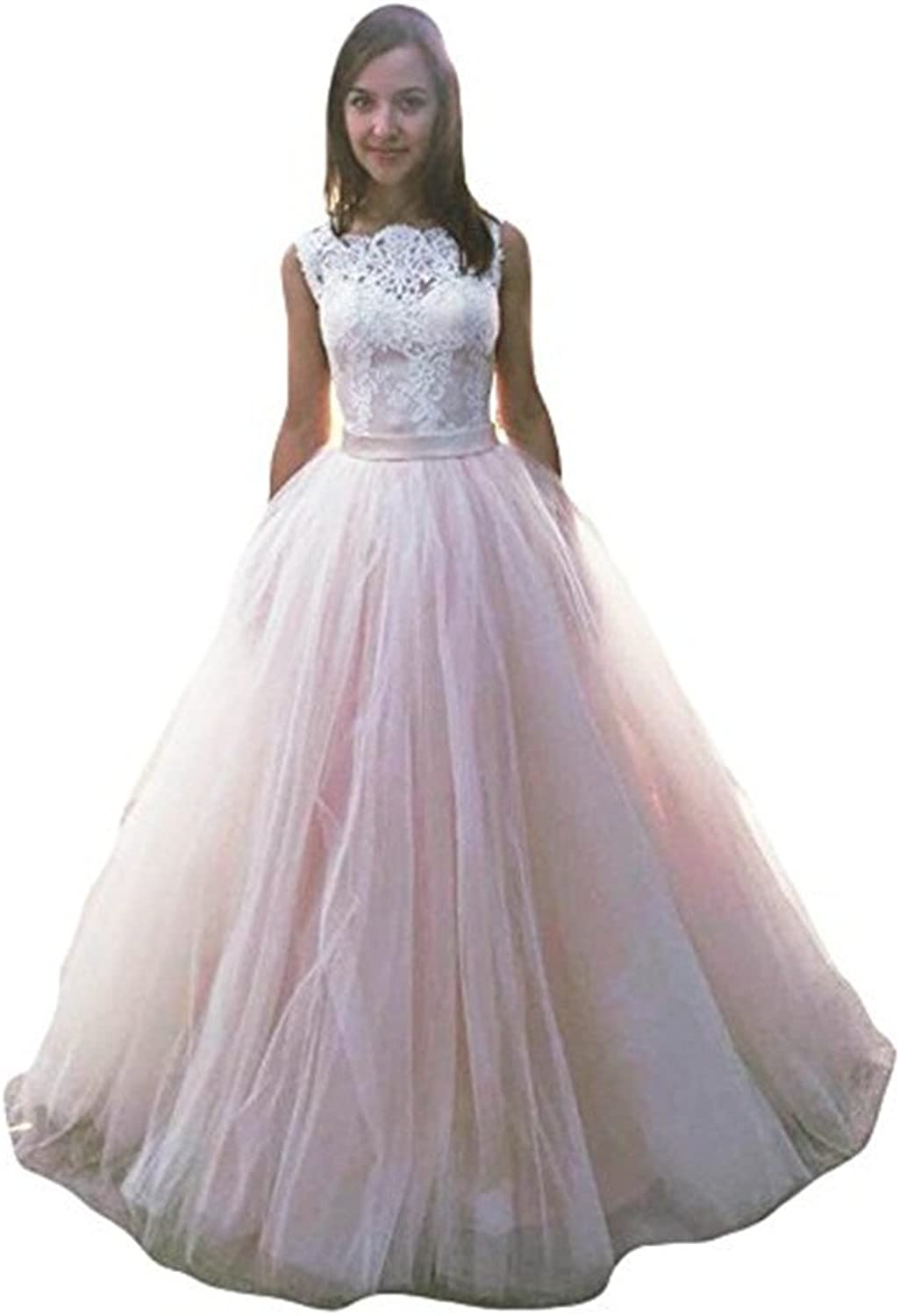 Chenghouse Prom Dresses Long VBack Lace Evening Party Gowns