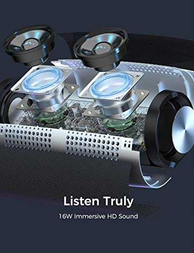 Altavoces Bluetooth Portatiles, MPOW Soundhot R9 Altavoz Bluetooth a IPX7 Prueba de Agua, Altavoz portátil con 24H de Tiempo de reproducción, Modo PartyCast, Sonido estéreo de 30W, Bluetooth 5.0