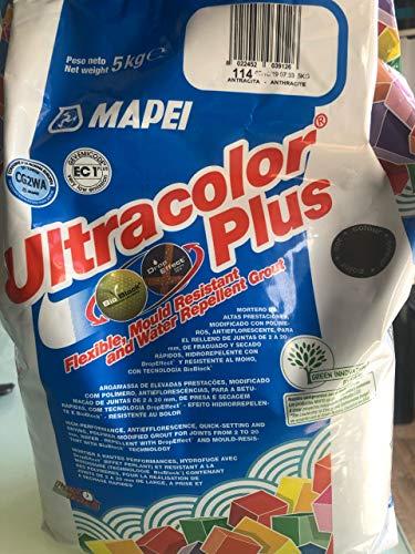 Mapei 114 UltraColor Plus Anthrazit Mörtel, 5 kg