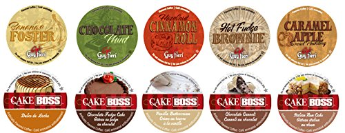10 Sales for sale Cup Cake Boss Max 47% OFF Guy Fieri Coffee Sampler Flavor New Flavored