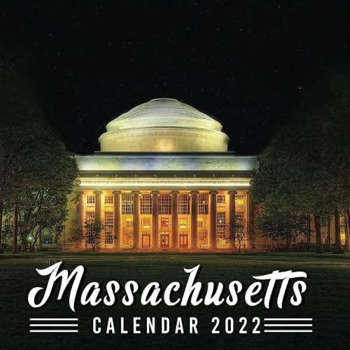 Massachusetts Calendar 2022: Calendar 2022 with 6 Months of 2021 Bonus