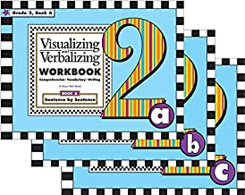 Visualizing and Verbalizing: Comprehension, Vocabulary, and Writing (Workbook) Grade 2 Books A-C