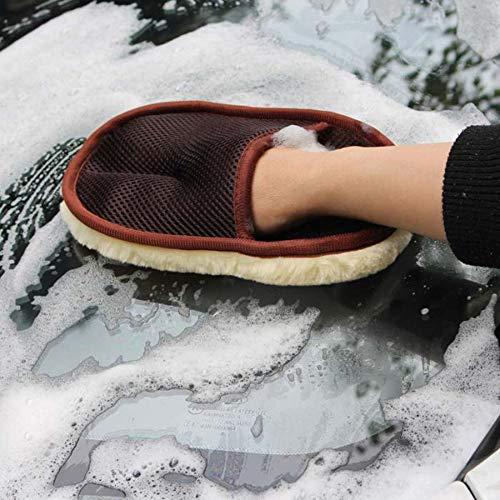 anruo Auto zachte car wash handschoenen reinigingsborstel motorfiets wasmachine onderhoud met verpakking