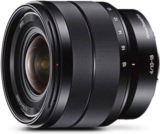 Sony E 10-18mm F/4 E Mount  Wide Angle Zoom Lens, Black