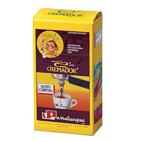 Caffè Passalacqua Cremador Espresso 250 Gr (Gusto Corposo) - Cartone 12 pezzi
