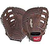 Rawlings Player Preferred Baseball First Base Mitt, Regular, Single-Post Double-Bar Web, 12-1/2 Inch