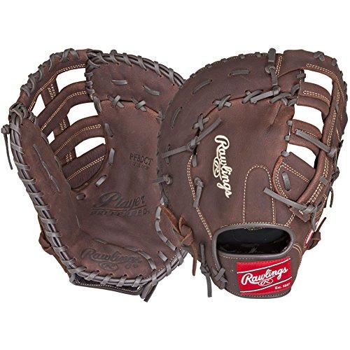 Rawlings Player Preferred Baseball First Base Mitt, Regular, Single-Post Double-Bar Web, 12-1/2 Inch