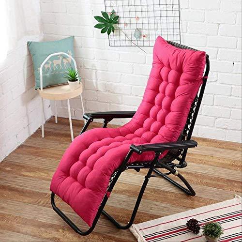 Lang zitkussen voor de tuin of als zitkussen, opvouwbaar, voor schommelstoel 48x155cm Roze.