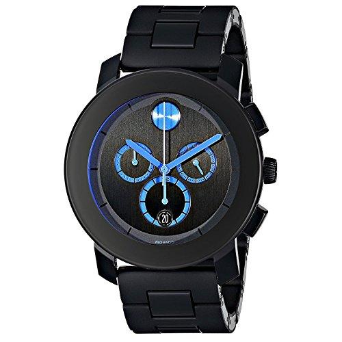 Movado Bold Reloj de hombre cuarzo 43.5mm correa y caja de acero 3600101