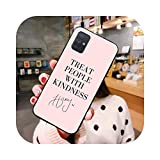 Harry Styles Treat People With Kindness Phone Case For Samsung Galaxy A21S A01 A11 A31 A81 A10 A30...
