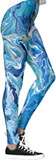 DIYCCY - Pantalones de yoga, color azul océano