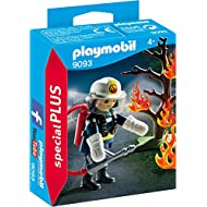Playmobil 9093 Firefighter with Tree Building Set