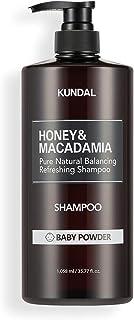 [KUNDAL公式]クンダル ネイチャー シャンプー1058ml ベビーパウダー Nature Shampoo 1058ml Baby powder 全成分EWGグリーンレベル・pH弱酸性・自然由来界面活性剤