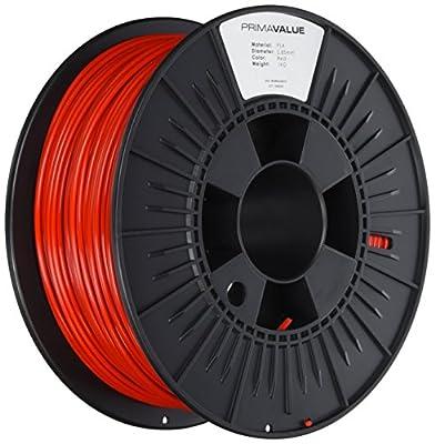 PrimaValue PLA Filament - 2.85mm - 1 kg spool - Red