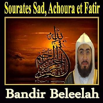 Sourates Sad, Achoura & Fatir (Quran - Coran - Islam)