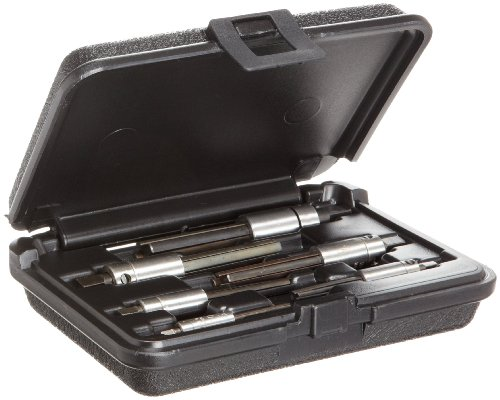 Walton 18001-3 6 Piece 3 Flute Tap Extractor Set With Square Shank