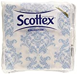 Scottex collection doble capa servilletas, colores surtidos, 1 pack de 50 unidades