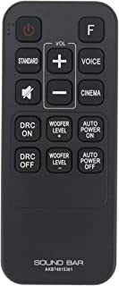 AKB74815301 Remote Control Replacement Applicable for LG Soundbar S55A3-D LAS454B S45A1-D LAS453B SH3B SPH3B-W SH3K SJ4Y S...