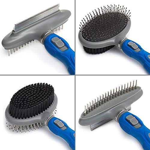 Friends Forever Dual Side 2 in 1 Pet Grooming Combo -...