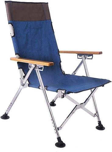 CCDZDM Chaise De Pêche Confortable en Acier Inoxydable, Chaise De Plage Extérieure Portable Pliable, Amphibie, Rallonger Le Tabouret 65X51X102Cm De Jambe