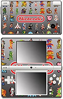 Classic Nintendo Video Game Character Sprites Retro Pixel Art Galaga Donkey Kong Double Dragon Ghosts and Ghouls Kirby Mario Metroid Samus Video Game Vinyl Decal Skin Sticker Cover for DSi System
