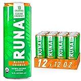 Organic Clean Energy Drink by RUNA, Blood Orange |...
