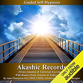 Akashic Records Self Hypnosis audiobook cover art