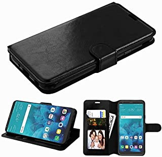 Wydan Case Compatible for LG Stylo 3, Stylo 3 Plus LS777 MP450 TP450 - Leather Wallet Style Case Folio Flip Foldable Kickstand Credit Card Cover