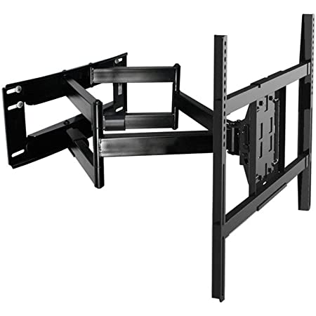 """Oversized TV Wall Mounts TV Bracket, for Most 52-85"""" Flat Screen TV/Mount Bracket, Full Motion TV Wall Mount with Swivel Articulating Dual Arms, Max VESA 800x500mm, 200 LBS"""